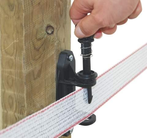Isolateur tendeur pour ruban 40 mm - Ruban cloture electrique ...
