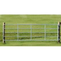 Portail de clôture galvanisé