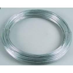 Fil de cloture électrique acier diam 2,5 mm