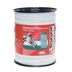 Ruban de clôture Premium Plus Blanc