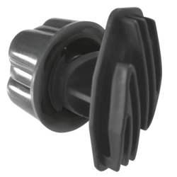 Isolateur de clôture a vis pour piquet diam 17 mm