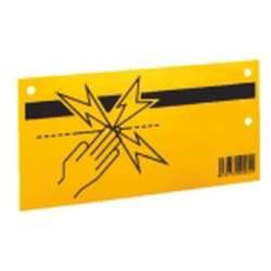 Plaquette de signalisation   clôture électrique Ako