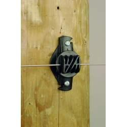 Isolateur de ligne pour clôture permanante