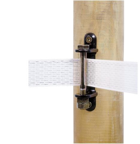 Isolateur d 39 angle pour ruban de cl ture electrique ako - Ruban cloture electrique ...