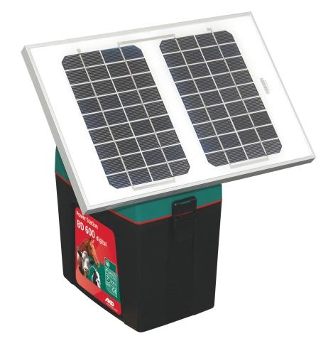 kit solair pour poste de cl ture 9 volt panneau solaire pour lectrificateur accessoires d. Black Bedroom Furniture Sets. Home Design Ideas
